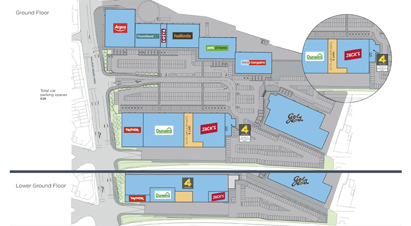 Kilner Way Retail Park Scheme