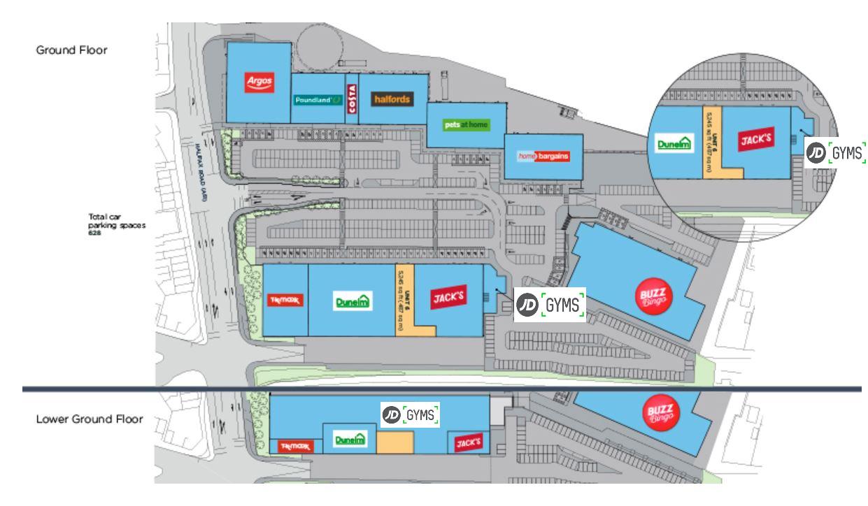 Kilner Way Retail Park Scheme